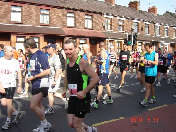 Newry City Marathon fundraisers